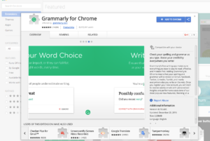 Grammarly for Chrome Install