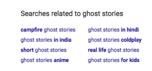 Ghost Stories long-tail search