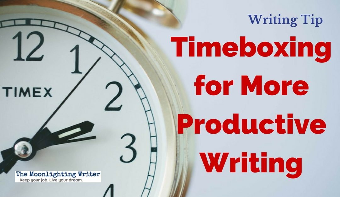 Timeboxing for More Productive Writing — Quick Writing Tip