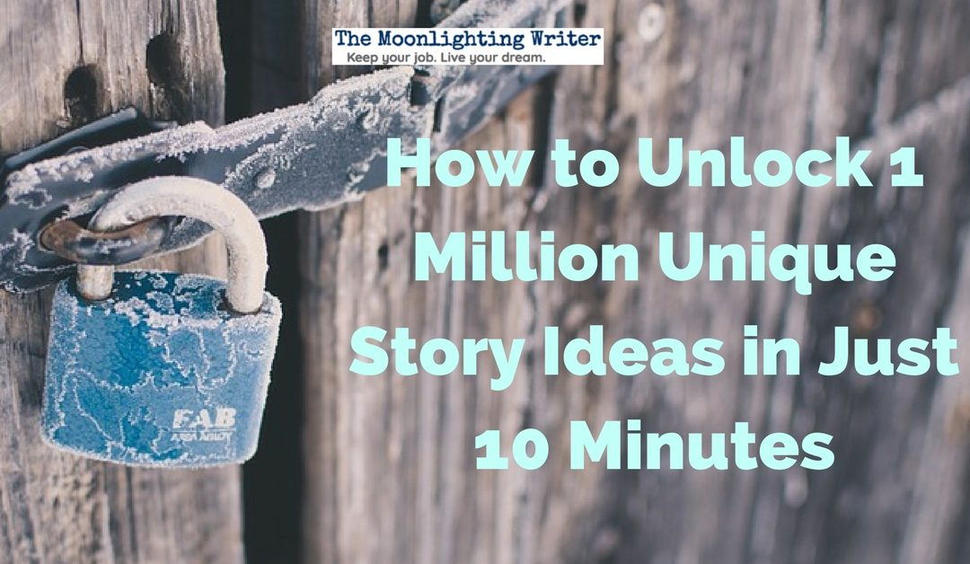 How to Unlock 1 Million Unique Story Ideas in Just 10 Minutes