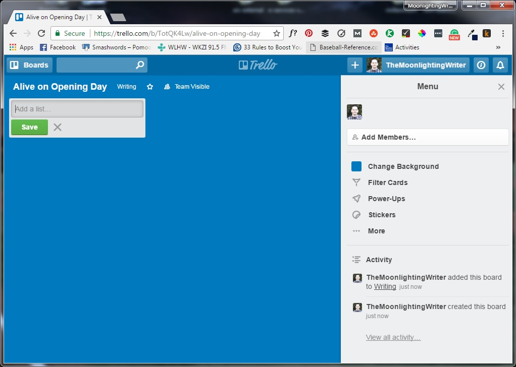 How to Build a Simple and Powerful Novel Writing Planner with Trello ...